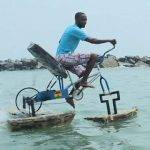 WeeTracker Trailblazers: Meet Frank Darko, The Ghanaian Water Bike Daddy