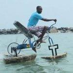 WeeTracker Trailblazers: Meet Frank Darko, The Ghanaian Water Bike Daddy