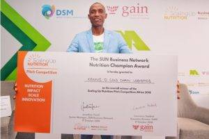 Kennie-O Cold Chain Logistics Wins USD 15 K In SUN- Pitch Nutrition Competition