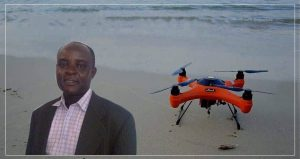 How A Marine Lecturer Uses Drones To Monitor Coastal Erosion in Ghana