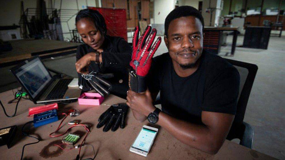 What If Sign Language Could Be Heard? This Kenyan Techie Is Making It Happen With His 'Magic Gloves'
