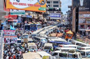 Kampala Faces 24000 Man-hour Loss Everyday Due To Traffic Jam
