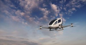 We Could Start Seeing Flying Taxis At The 2024 Olympics