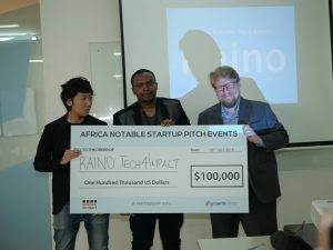 Raino Tech4Impact Secures USD 100 K In Equity From Samurai Incubate Africa