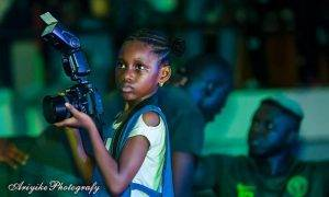 This 8-Year-Old Runs Her Own Photography Businesses & Makes NGN 100 K Per Gig