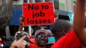 Strike Action By South African Unions Threatens To Bring The Country To A Standstill