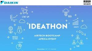 Meet The Finalists Of Daikin – Samurai Incubate Ideathon- Airtech Bootcamp Africa Event